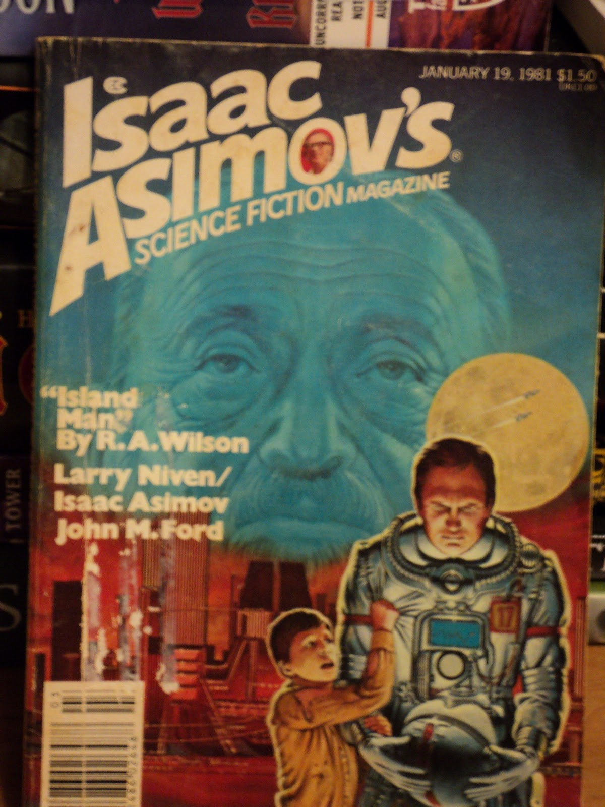 A Preview Of Old Sf Magazine Cover Art And Two 80s Era Covers Vaguely Borgesian