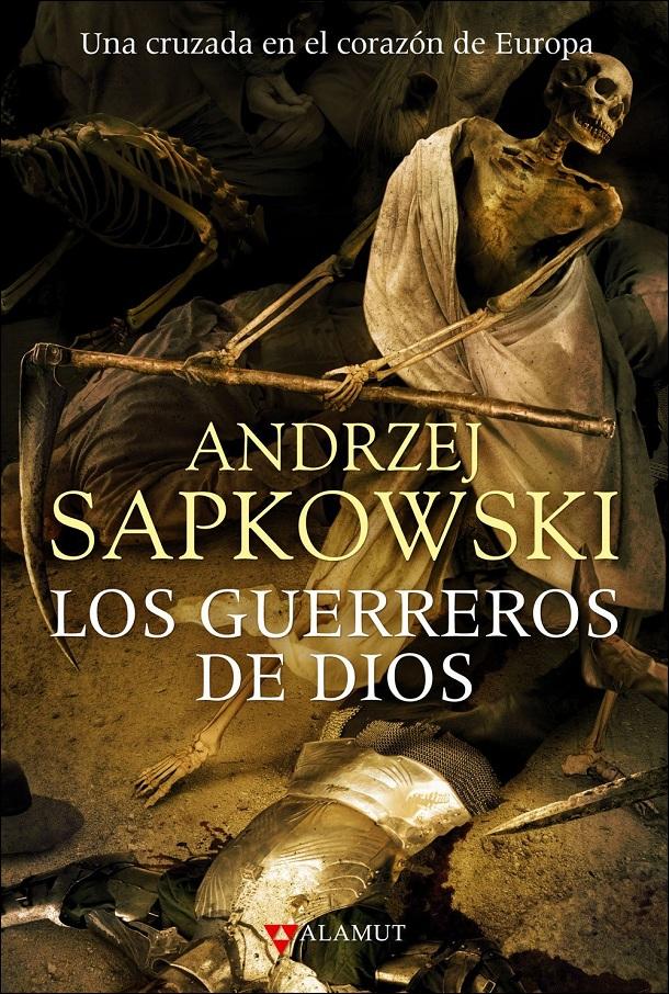 Působivá obálka španělského vydání Božích bojovníků